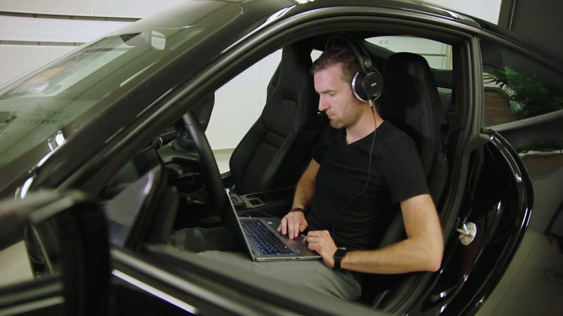 Porsche 911 Audio Video