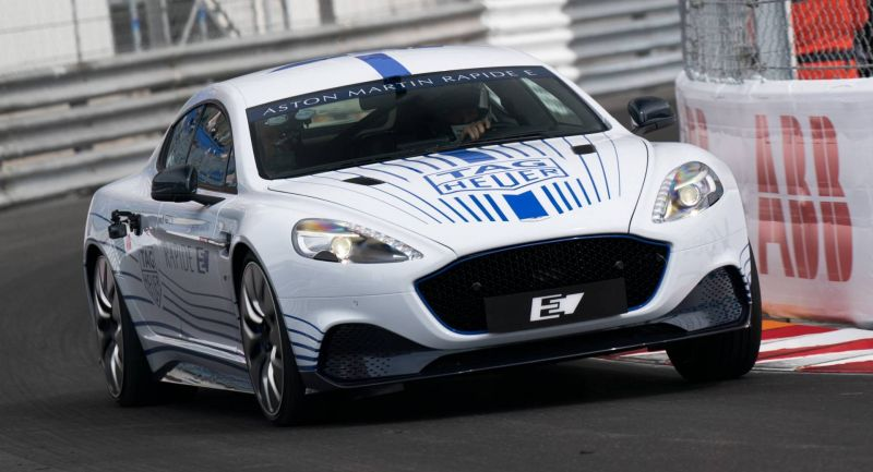 Aston Martin Rapide E Video
